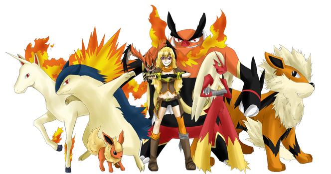 Crossover Yang Pokemon by Babero