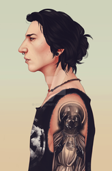 Kylo by goatrocket