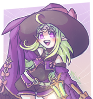 Eternal Witch Nowi~ by Nyamuh
