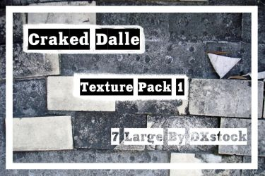 Cracked Dalle_Texture_Pack 1 by DXstock