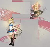 .: Lucy :. FREE YT background by PrincessxRinoa