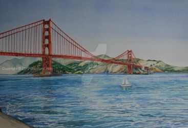 Golden Gate Bridge by SuzanneHole