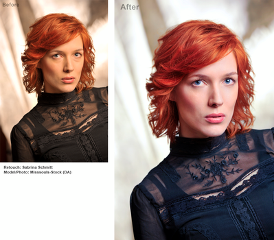 Beauty Retouch - Red Haired by Pyro911