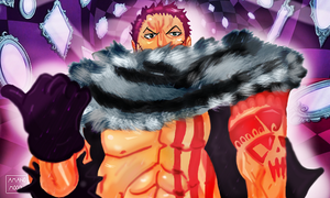 One Piece Chapter 880 Katakuri Opening 20 COLORS by Amanomoon