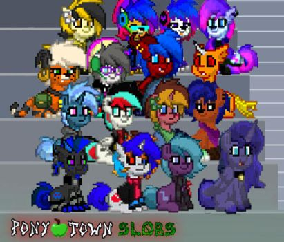 The Pony Town Slobs by Torpy-Ponius