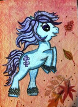 G1 to G4 Style Baby Hopscotch Autumn Art by MikeysGrrrl
