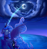 The moon will always be the strongest by Allex-AI