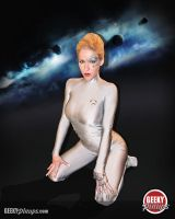 Seven of Nine Pin Up by megmurrderher