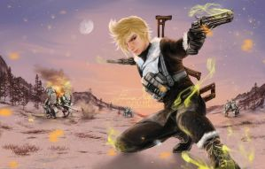 Prompto from FFXV (episode prompto) by EmmaNettip