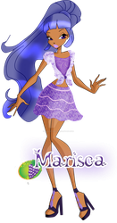 Miss Blackberry / Marisca City Girl Outfit by Grisoutigrou
