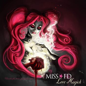 ALBUM COVER- Miss FD by SpookyChan