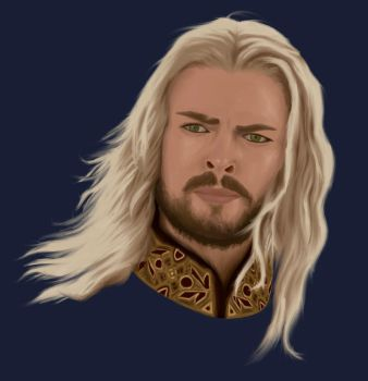 Eomer Painting (2) by Captainboomcake