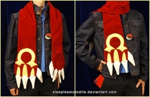 Omega Ruby: Groudon Scarf (RESTOCKED) by SleeplessTotodile