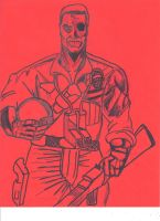 Yo Joe Zombified Duke by JohnReynolds
