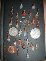 NEW LITTLE BITTY PENDANTS! by Wolf-Lady-bsparks85