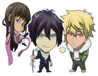 Noragami Sticker Collection by devillo