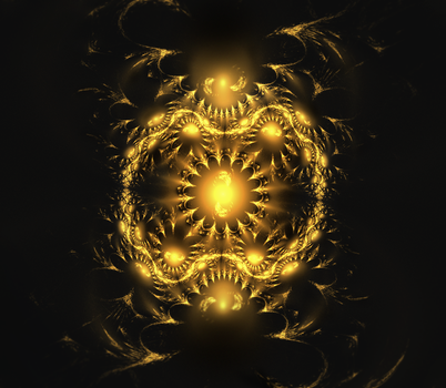 Gold Fractal by Sammers1