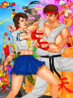 Do you even Hadoken brah? by zenlang