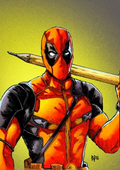 Deadpool (colors) by ObbArt
