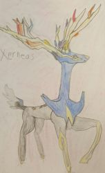 Xerneas by LaceySurprise