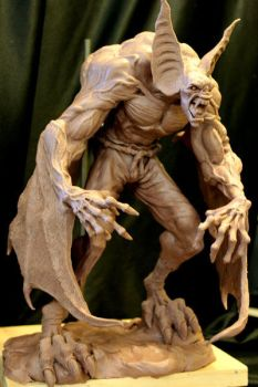 Manbat WIP 1 by Blairsculpture