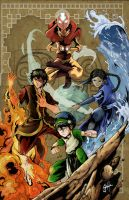 Avatar the last airbender by gamaiel