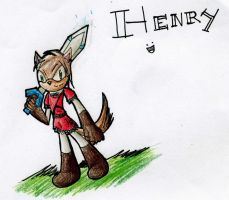 Gifts:: Henry the Heroic DOG by DragonRayne-kun
