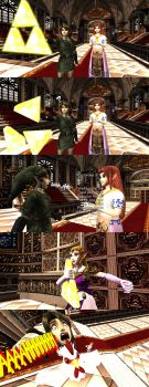 Link killed the Triforce, what a RIP by MichaelJordy