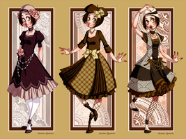 LM: Retro Lolita Set II by Seitou