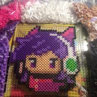 Perler Beads Arcade Ahri! by Nicketeer