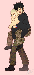 gay soldiers? gay soldiers by cottoncandydeer