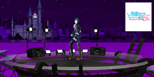 stage230 Project Diva F 2nd by nampukkk