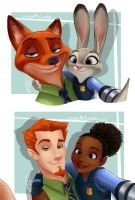 Zootopia Humanized by juliajm15