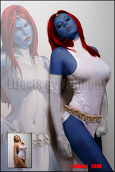 The Real Mystique by Fabionei