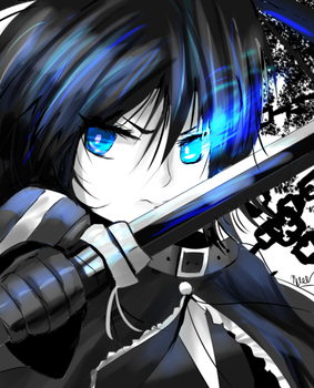 Black Rock Shooter by Maeveycorn360