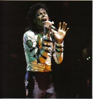 Michael Bad Tour by LordessofDragons