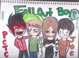 Fall Out Boy :D by invaderzims