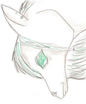 Green Horse by dragonsister17