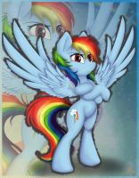 Rainbow Dash by Meze-Diapason