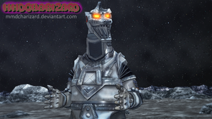 MMD Newcomer - PS3/PS4 MechaGodzilla2 V2 +DL+ by MMDCharizard