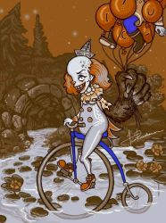 Pennywise by Fragile-yet-CunNINg