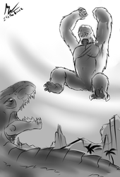 Here Comes Kong!! by ItsTheBruce