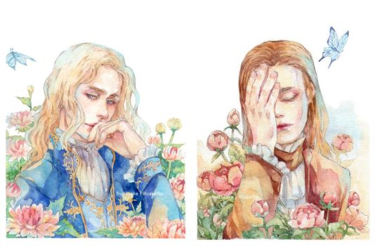 Lestat- Louis by fruitscake