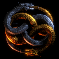 Draco Serpent Auryn by paulrich