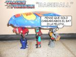 The Transformers - Baseball by SturmvogelPrime