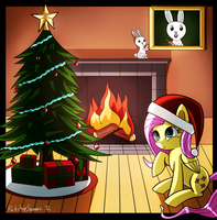 Twas the Night Before Christmas by porkchopsammie