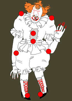 Pennywise Again by triple65forkedtongue