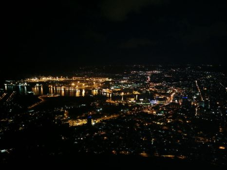 Port Louis at night by carrotmadman6