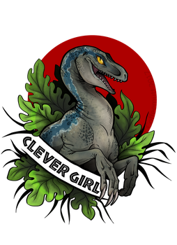 Clever Girl by CoffeeholicMutt