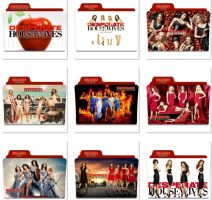 Desperate Housewives Folder Icons by nellanel